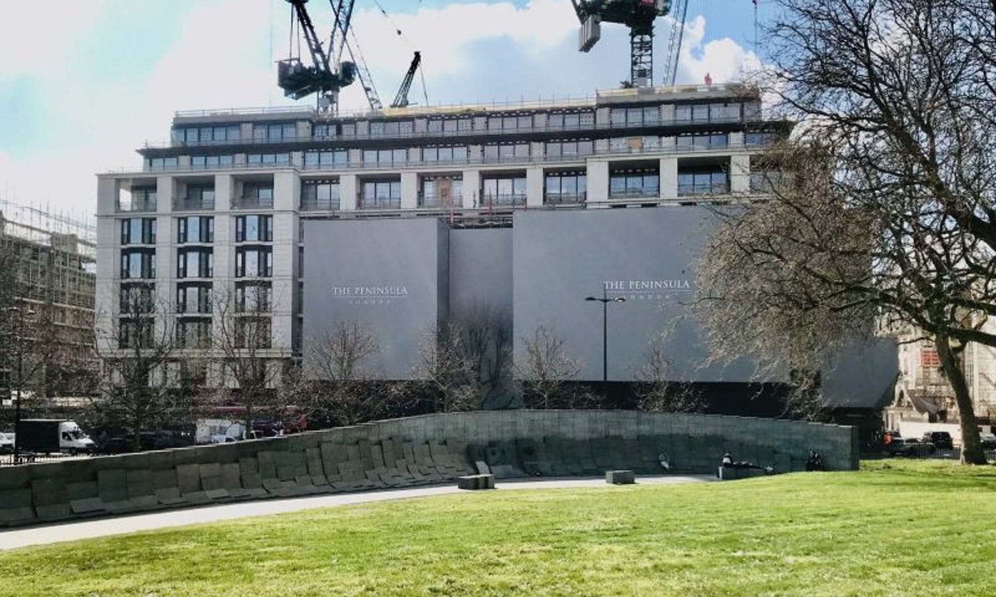 Peninsula London Hotel, Hyde Park uses 30kms of Van Damme cable