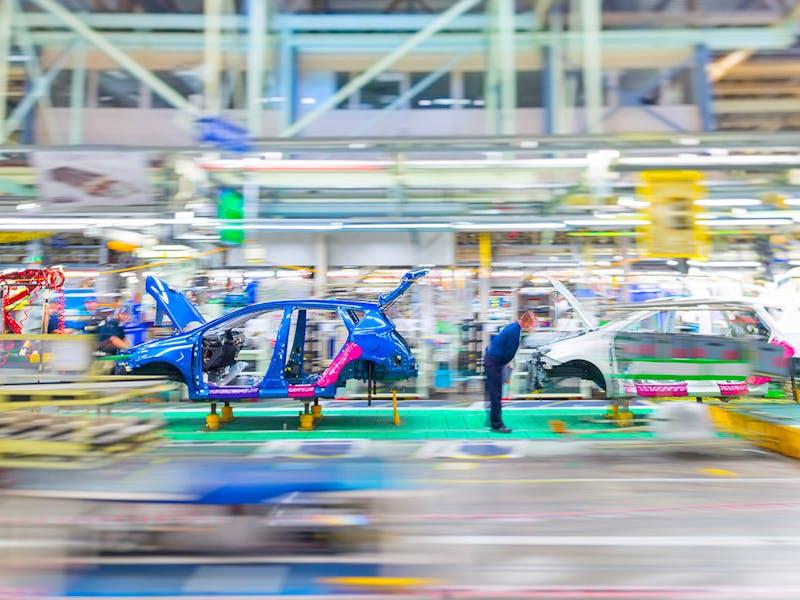VDC installs Van Damme Silver Series in the Toyota factory, Berlin, Germany