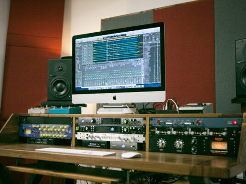 VDC Trading wires up exceptional barn recording studio on family farm